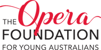The Opera Foundation for young Australians Logo